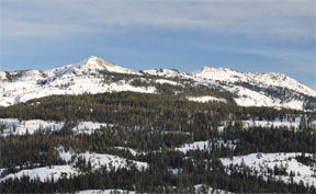 Image of Tells Peak and the Crystal Range
